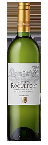 vin blanc avec étiquette personnalisée